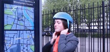 Bikers Rio pardo | Artigos | EcoHelmet: o capacete de papel ecologicamente correto
