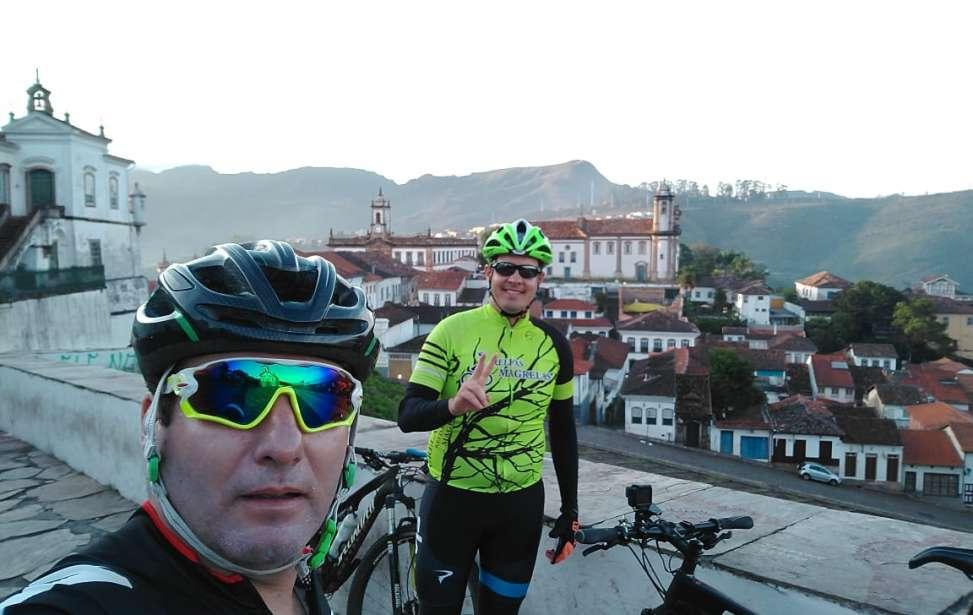 Bikers Rio pardo | Roteiros | Ciclistas riopardenses na Estrada Real