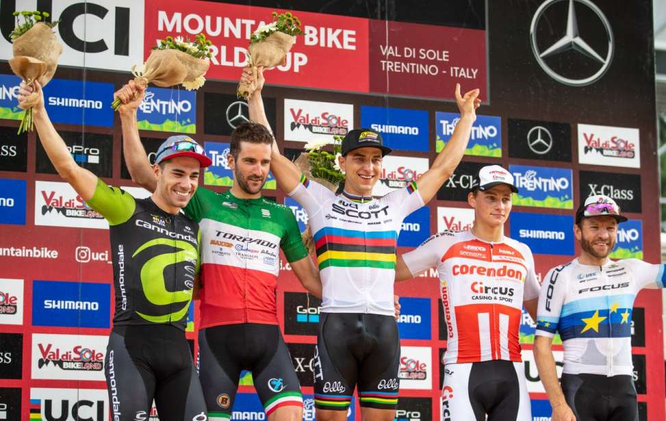 Bikers Rio Pardo | Notícia | Henrique Avancini garante pódio inédito no XCO da Copa do Mundo de MTB disputada na Itália