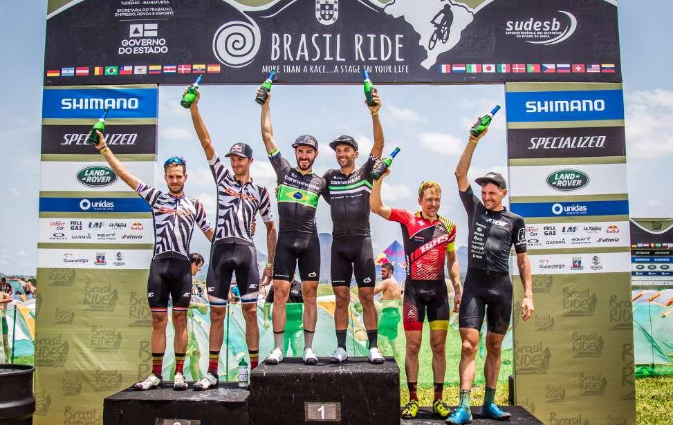 Bikers Rio Pardo | Notícia | Brasil Ride 10 anos: Avancini e Fumic vencem a terceira etapa, em Guaratinga