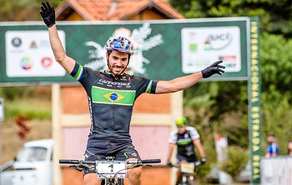 Bikers Rio pardo   Notícias   Avancini vence 1ª Maratona Internacional Estrada Real de MTB