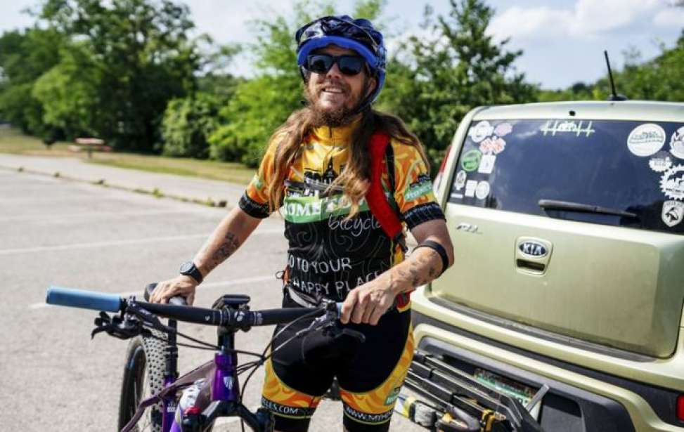 Bikers Rio Pardo | SUA HISTÓRIA | Ele chegou a pesar 200 kg; mas foi salvo pela bicicleta