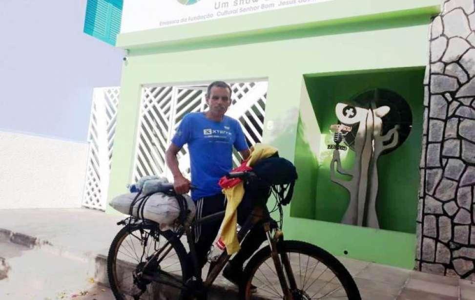 Bikers Rio pardo | Sua História | Dez mil quilômetros em cem dias; conheça o ultra ciclista de 55 anos que topou realizar tamanha aventura