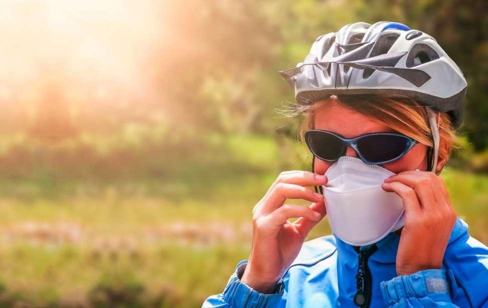 Bikers Rio pardo | Notícias | A máscara não afeta o desempenho ao pedalar em baixa intensidade