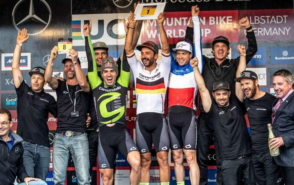 Bikers Rio Pardo | Notícia | Cannondale Factory Racing renova contrato até 2020 com Avancini, Fumic e Marotte