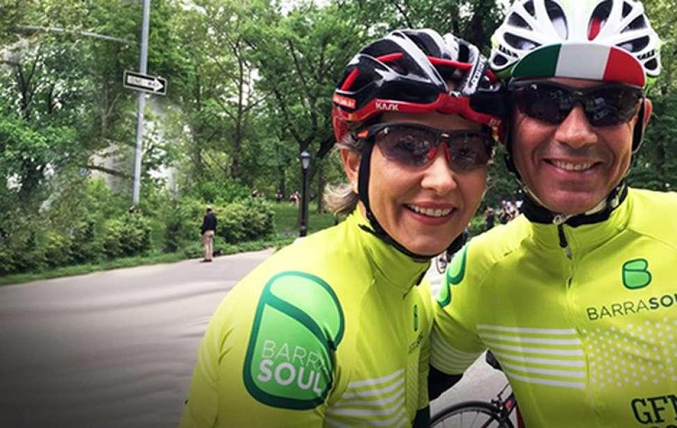 Bikers Rio Pardo | SUA HISTÓRIA | Dos treinos de bike para o altar: casal se conhece pedalando e troca alianças