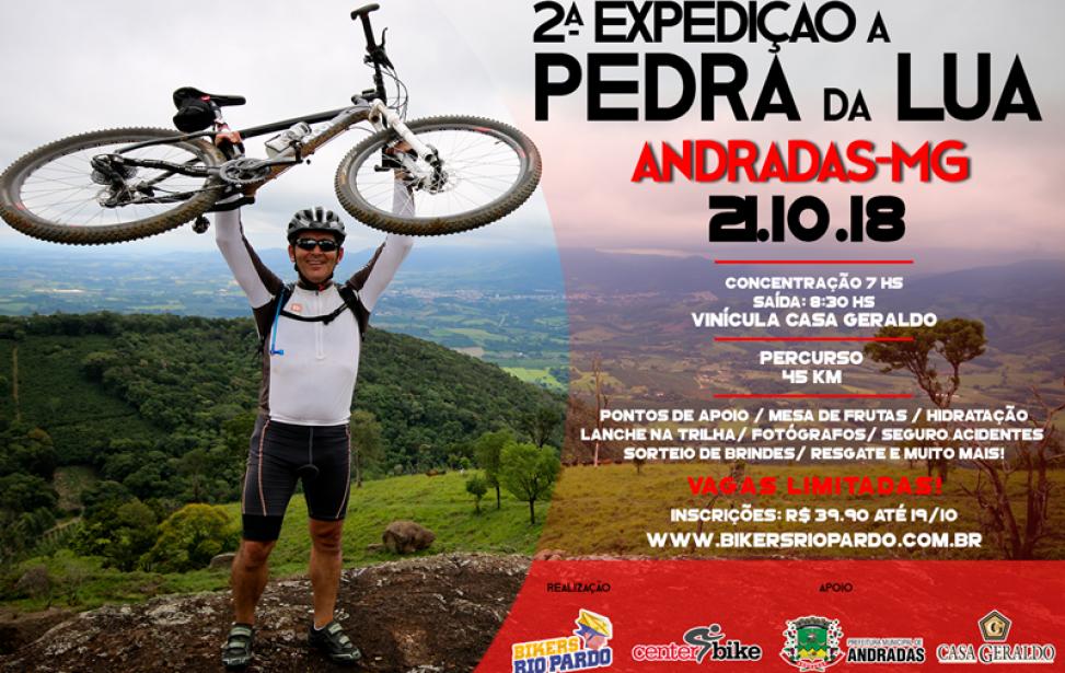 Bikers Rio pardo   Ciclo Aventura   2   2ª EXPEDIÇÃO A PEDRA DA LUA
