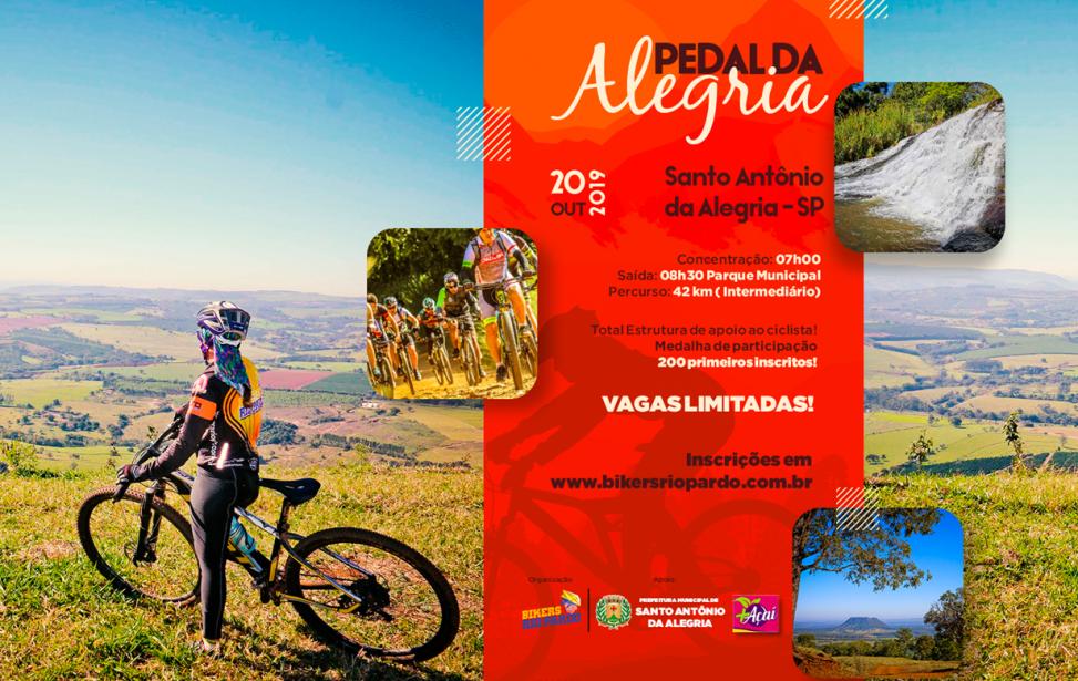 Bikers Rio pardo | Ciclo Aventura | PEDAL DA ALEGRIA - Santo Antônio da ALEGRIA