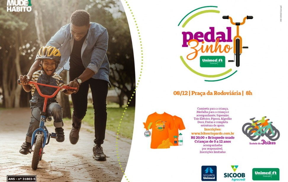 Bikers Rio Pardo | PEDALZINHO UNIMED