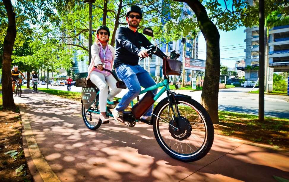 Bikers Rio pardo | Notícia | Shimano Fest promove pedal inclusivo para deficientes visuais