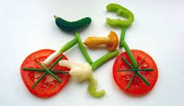 Alimentação correta melhora treino de bicicleta