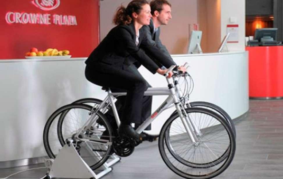 Bikers Rio pardo   Notícias   Hotel dá refeição grátis a hóspedes que gerarem energia pedalando