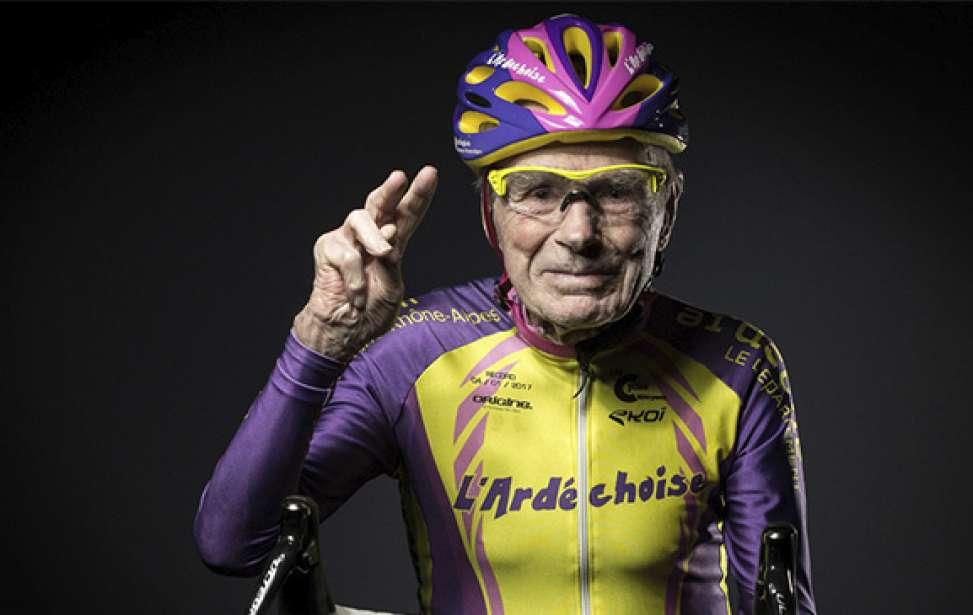 Bikers Rio Pardo | Notícia | Aos 106 anos de idade, Robert Marchand pendura as sapatilhas