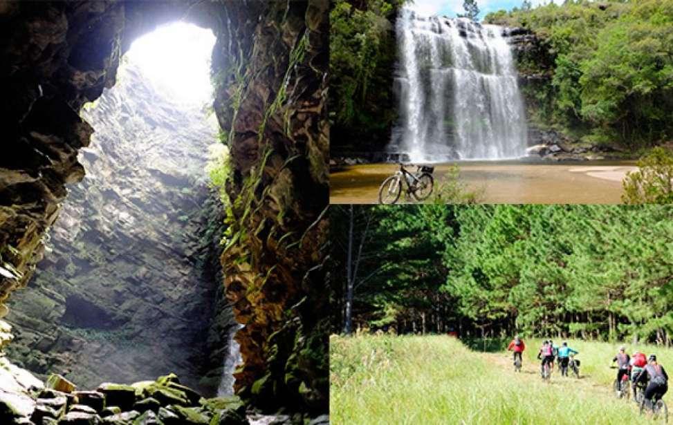 Bikers Rio pardo | Roteiros | O Buraco do Padre e a Cachoeira da Mariquinha