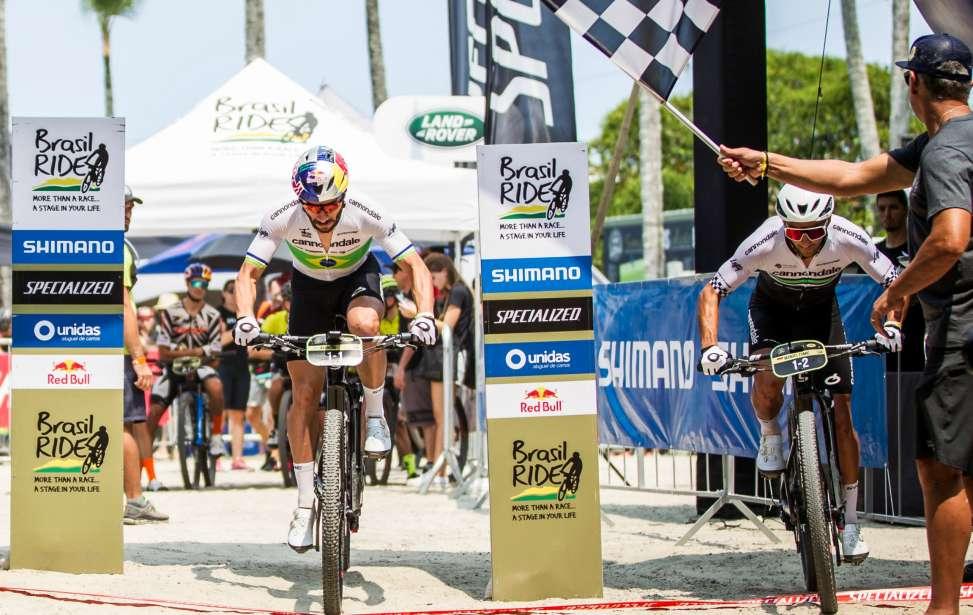 Bikers Rio pardo | Notícias | Brasil Ride 10 anos: Henrique Avancini e Manuel Fumic vencem prólogo com recorde