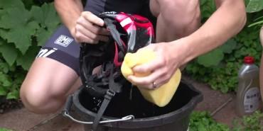 Evite doenças e coceiras - limpe seu capacete
