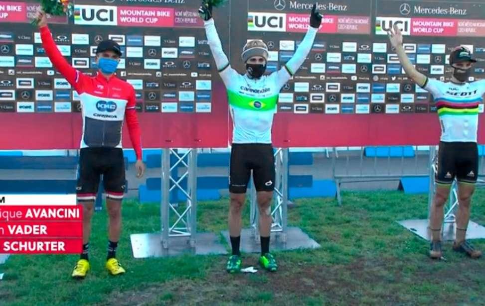 Bikers Rio pardo | Notícias | Copa do Mundo de MTB 2020 #2 - NOVE MESTO - Avancini vence XCO e faz história