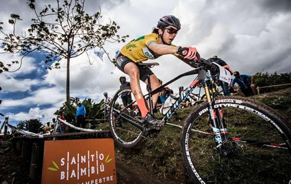 Bikers Rio Pardo | Notícia | Pan-Americano de MTB: ouro para o Brasil com Cocuzzi e Raiza