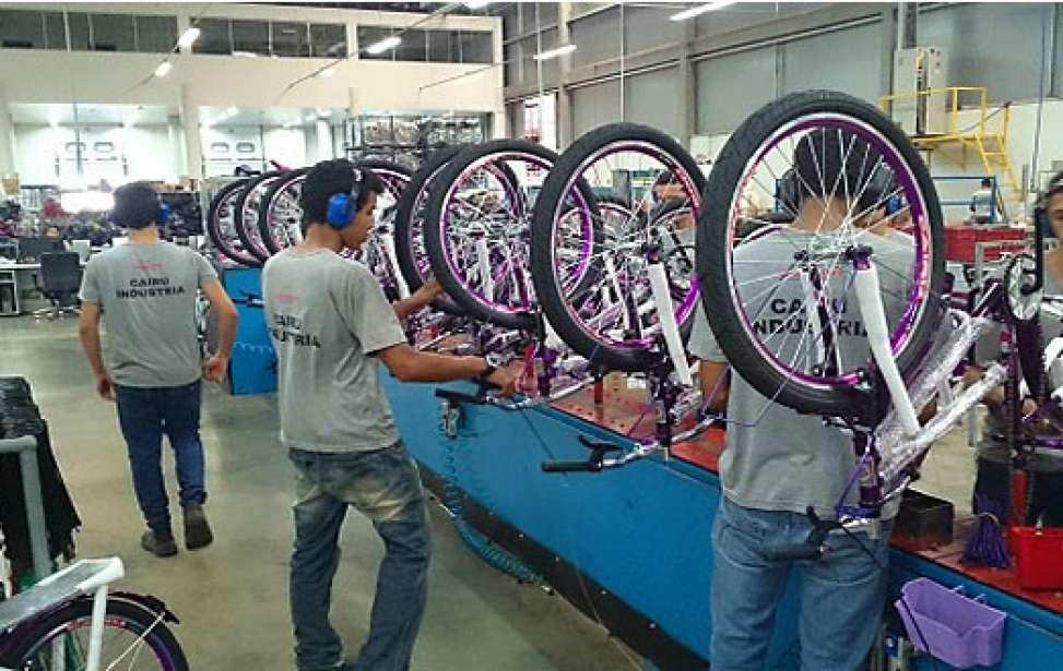 Bikers Rio pardo | Notícias | Produção de bicicletas cresce em setembro, mas apresenta queda no acumulado do ano